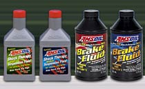AMSOIL Shock Therapy Suspension Fluid for Harley Davidsons